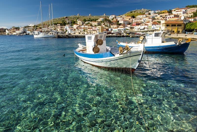 Остров Греция 2019 Chalki стоковые фотографии rf