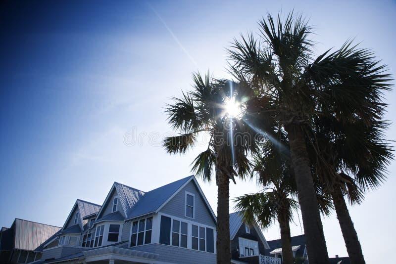 остров дома облыселой головки стоковая фотография