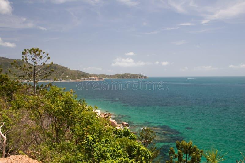 остров залива магнитный стоковое изображение rf