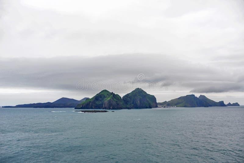 Остров зеленого цвета Чили стоковое фото rf