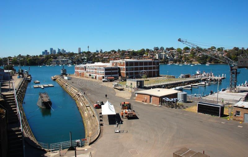 Остров какаду, Сидней, NSW, Австралия. стоковые фотографии rf