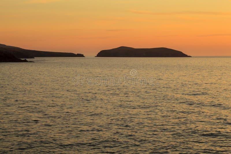 Остров кардигана стоковые фотографии rf