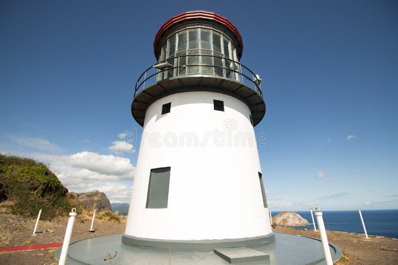 Остров маяка и кролика ` u Makapu стоковое фото rf