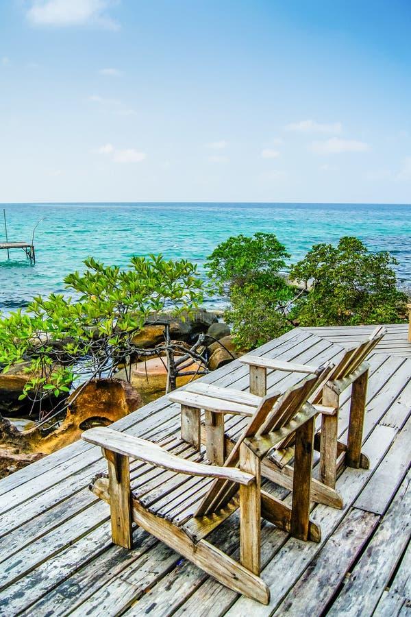 Остров моря стоковая фотография rf