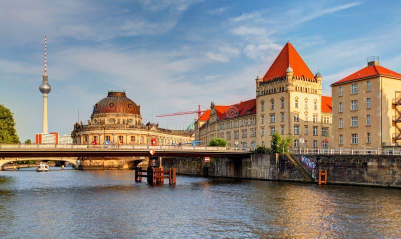 Остров музея в Берлине - Германии стоковые фото