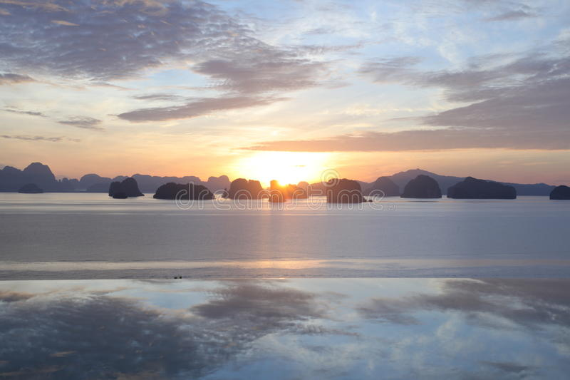 Остров доброго утра стоковые изображения