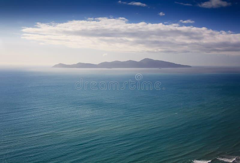 Остров океана Новой Зеландии стоковая фотография