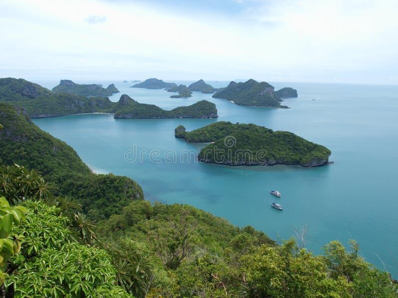 Остров, парк ушивальника Ang национальный морской стоковое изображение