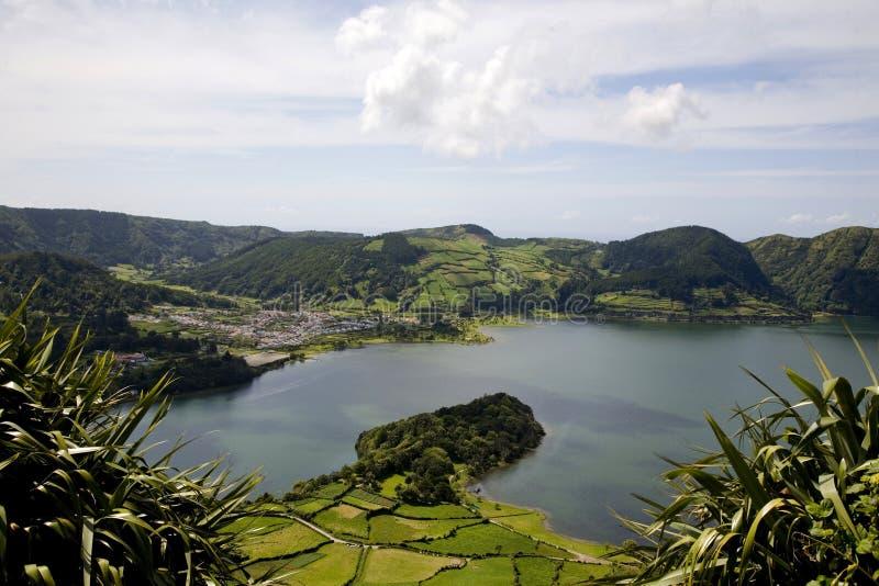 остров Португалия Азорских островов стоковое фото rf