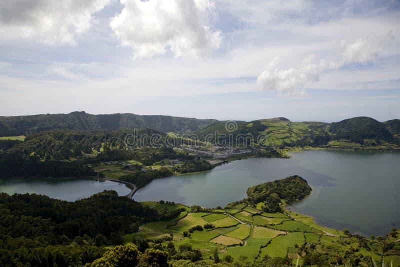 остров Португалия Азорских островов стоковое изображение rf