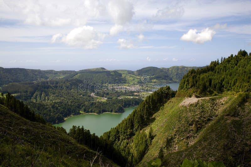 остров Португалия Азорских островов стоковая фотография rf