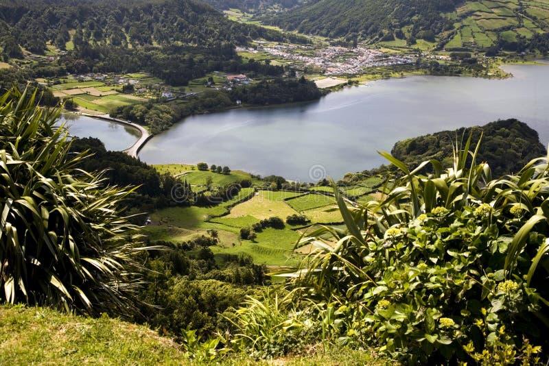 остров Португалия Азорских островов стоковая фотография