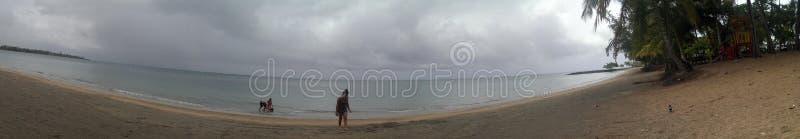 Остров Пуэрто-Рико песка пляжа воды океана моря карибский стоковые фото