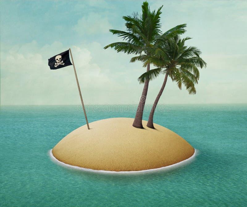 остров сиротливый бесплатная иллюстрация