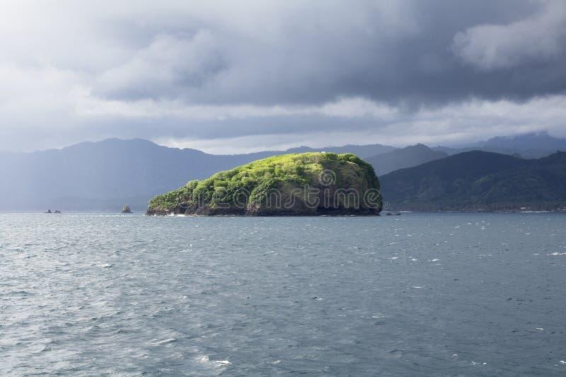 Остров с Бали, Индонезии стоковая фотография rf