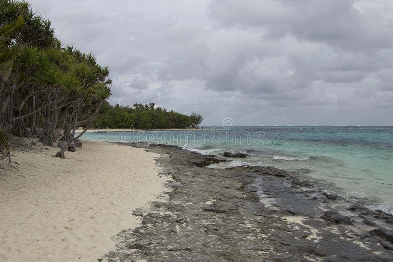 Остров тайны стоковая фотография
