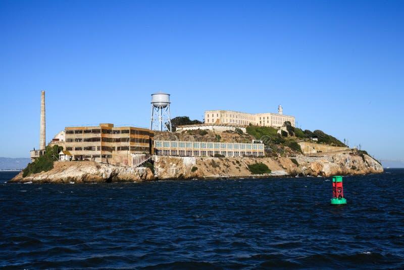 Остров тюрьмы Сан-Франциско Alcatraz стоковая фотография rf