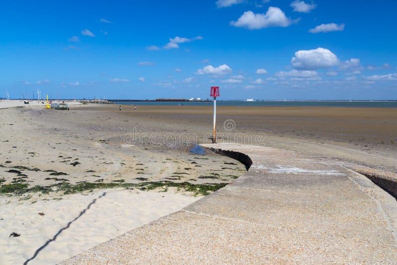Остров Уайт Англия Ryde стоковое изображение