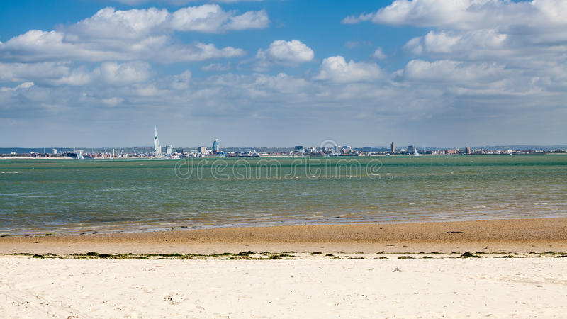 Остров Уайт Англия Ryde стоковые фотографии rf