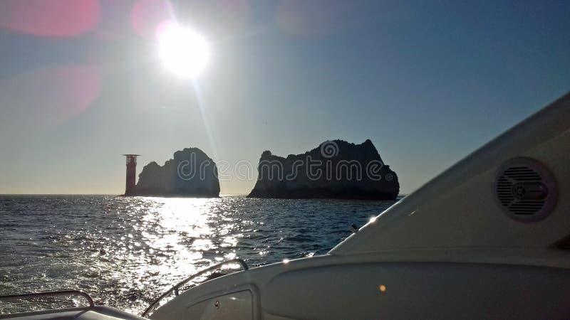 Остров Уайт игл стоковые фото