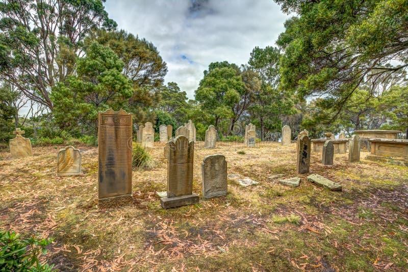 Остров умерших, Порт Артур стоковые изображения rf