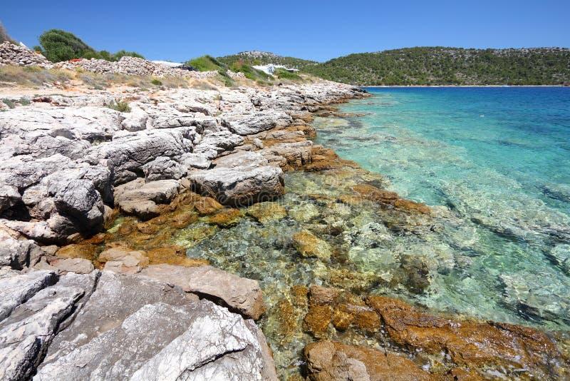 Остров Хорватии - Murter стоковое фото