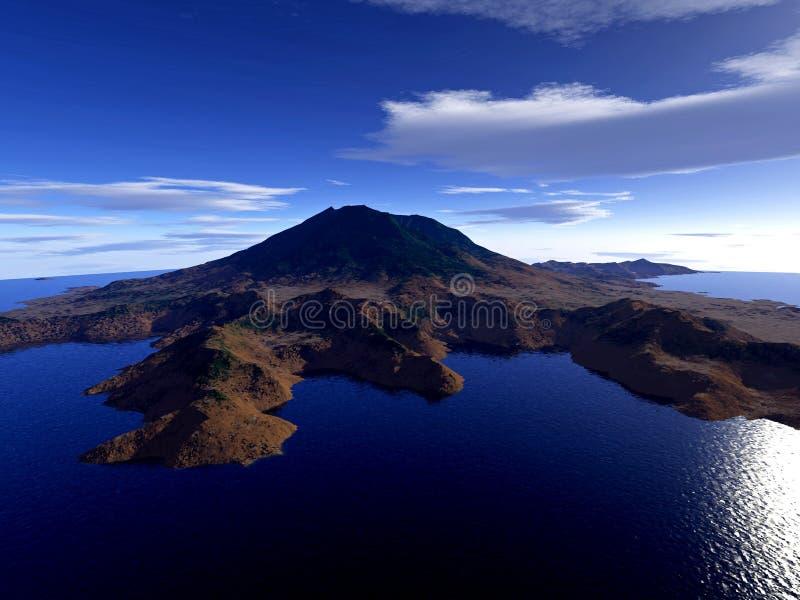 Download остров иллюстрация штока. иллюстрации насчитывающей baxter - 1184969