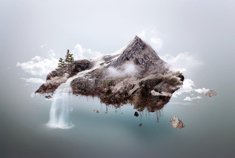 остров иллюстрация штока