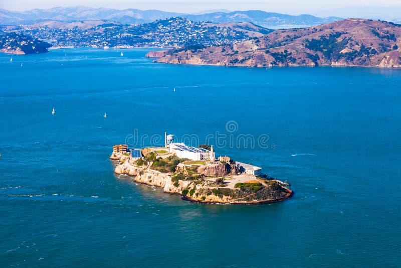 Остров Alcatraz стоковая фотография rf