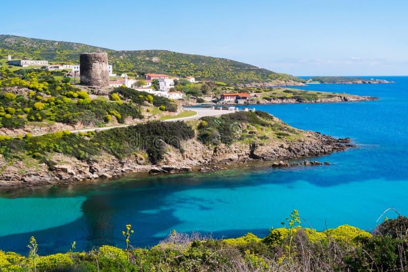Остров Asinara в Сардинии, Италии стоковое фото