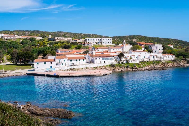 Остров Asinara в Сардинии, Италии стоковые фотографии rf