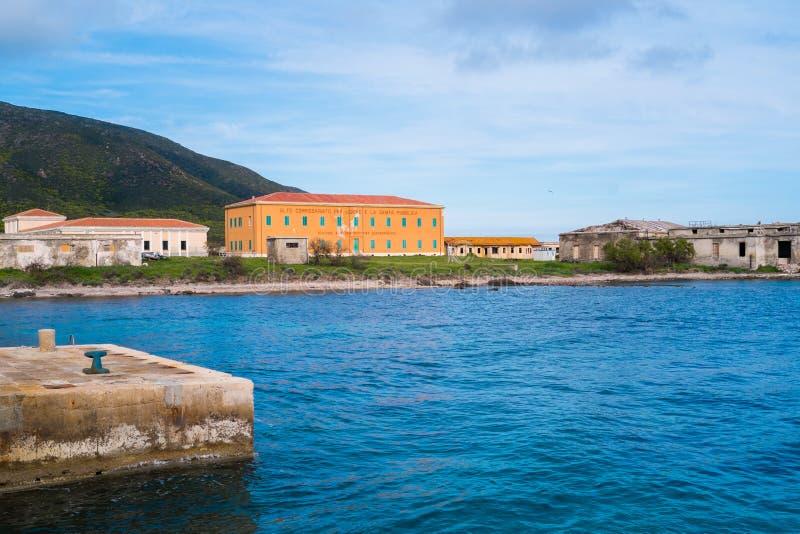 Остров Asinara в Сардинии, Италии стоковая фотография