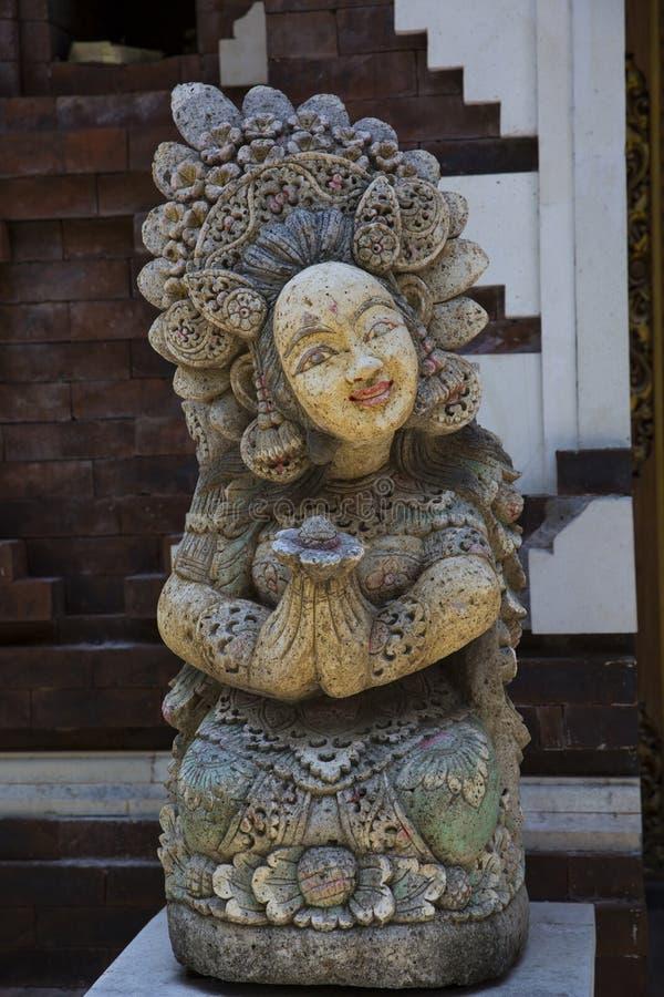остров bali Скульптуры богов и духов стоковая фотография rf