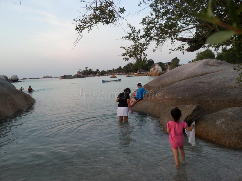 Остров Belitong стоковая фотография