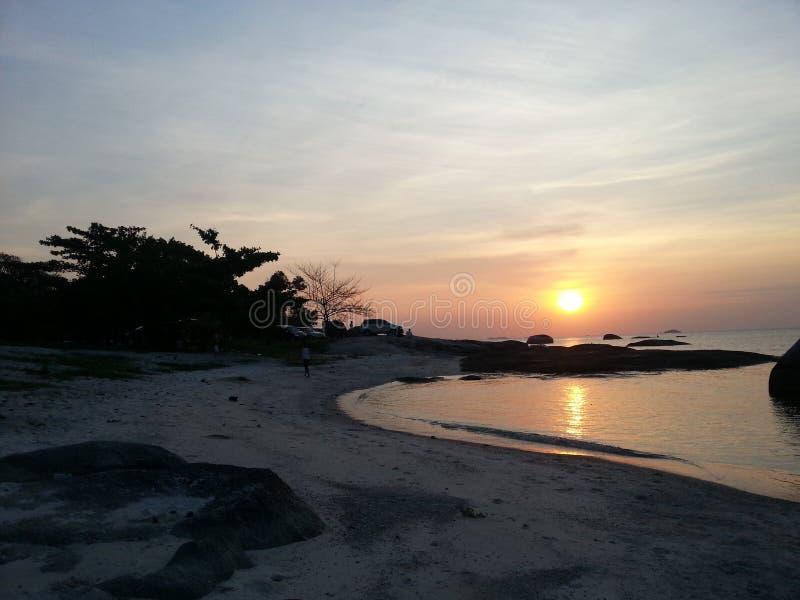 Остров Belitong стоковые фотографии rf
