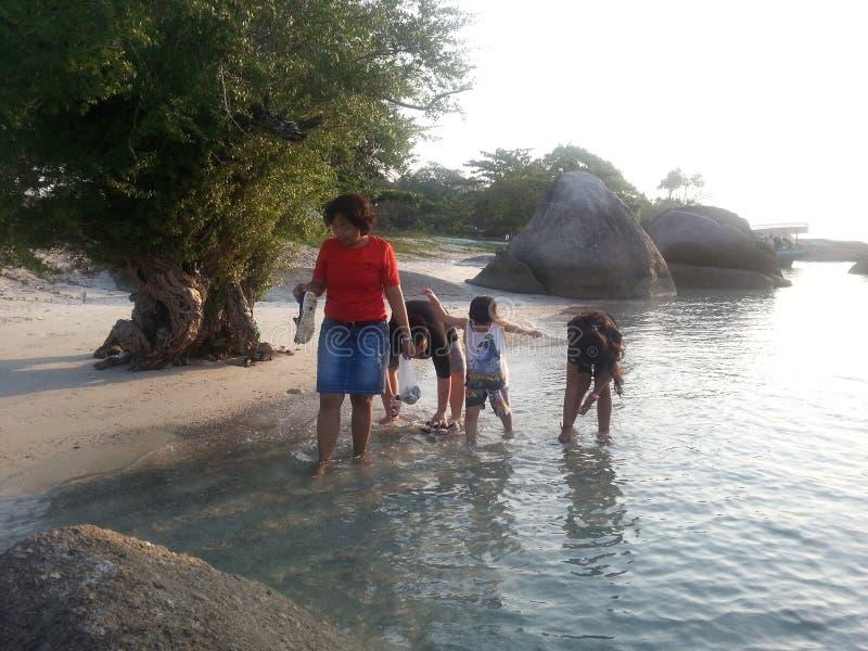 Остров Belitong стоковое изображение rf