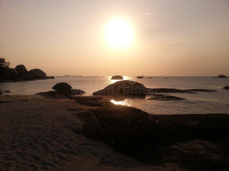 Остров Belitong стоковая фотография rf