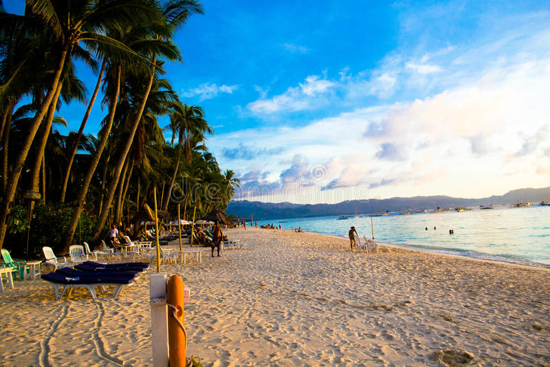 Остров Boracay стоковое изображение rf