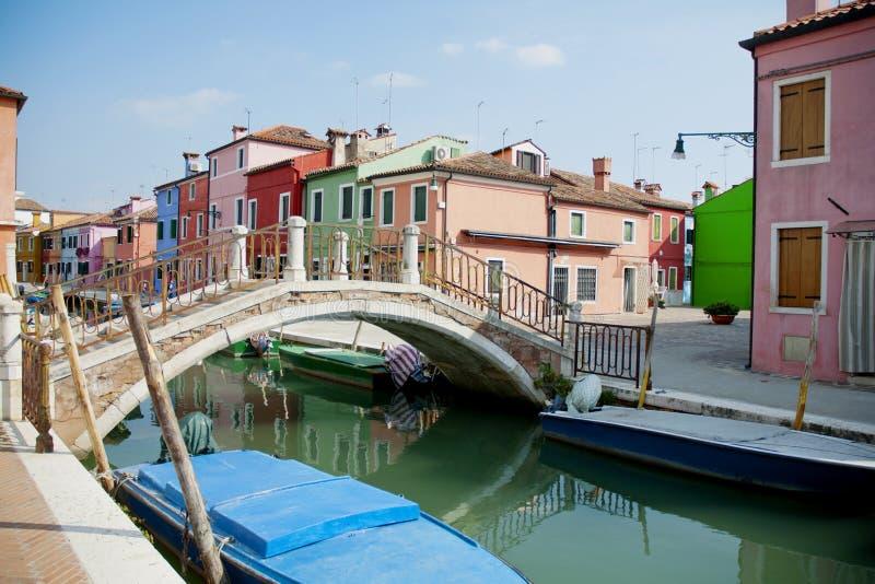 Остров Burano, Венеция, Италия стоковые изображения