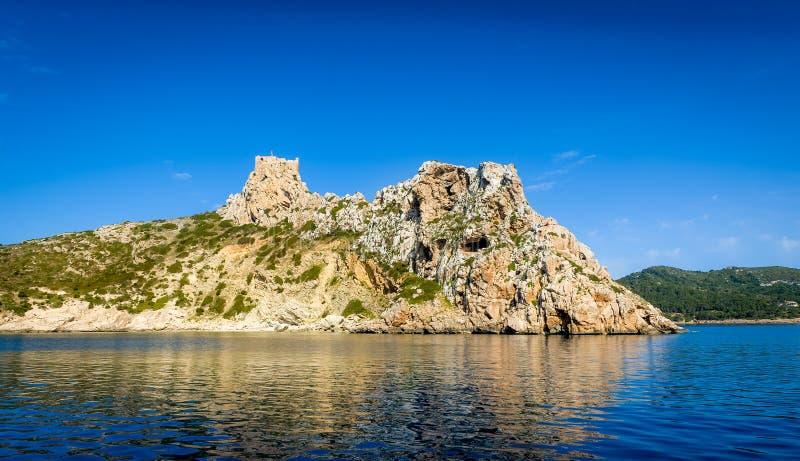 Остров Cabrera стоковое фото rf