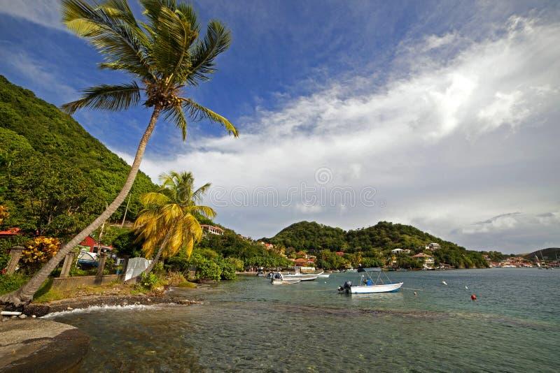 Остров Caribbeam Гваделупы, остров saintes стоковая фотография rf