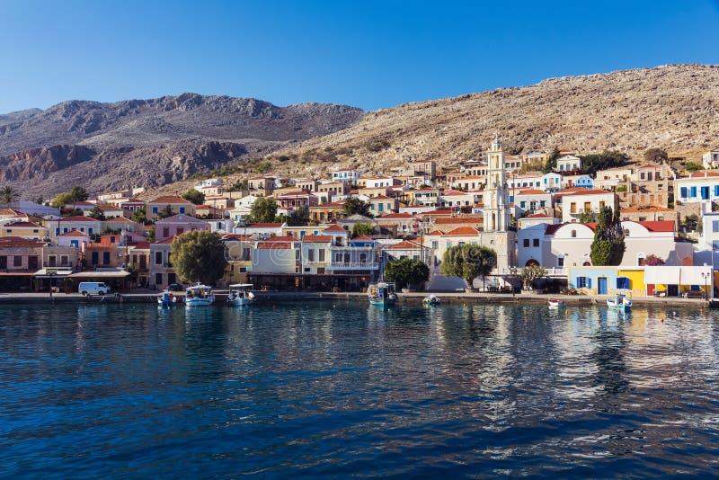 Остров Chalki, Греция стоковая фотография