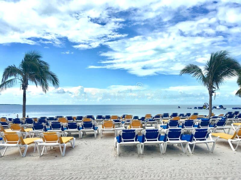 Остров CocoCay, Багамские острова стоковая фотография
