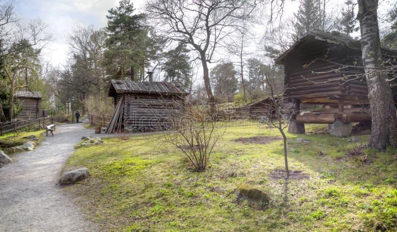 Остров Djurgarden, Стокгольма Музей Skansen barman стоковая фотография