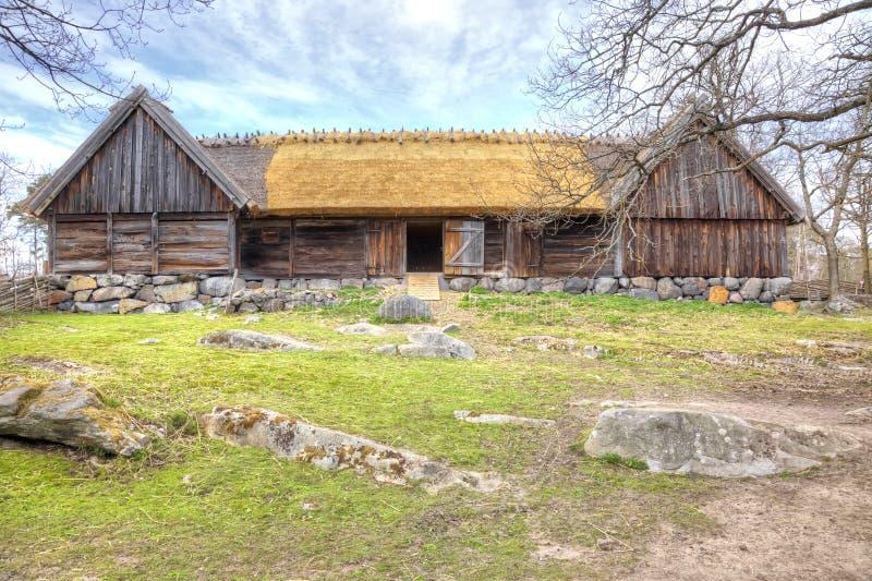 Остров Djurgarden, Стокгольма Музей Skansen barman стоковая фотография rf
