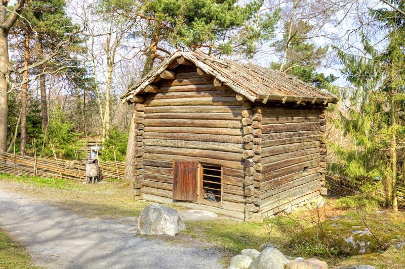Остров Djurgarden, Стокгольма Музей Skansen barman стоковое изображение