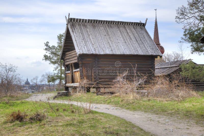 Остров Djurgarden, Стокгольма Музей Skansen barman стоковые изображения