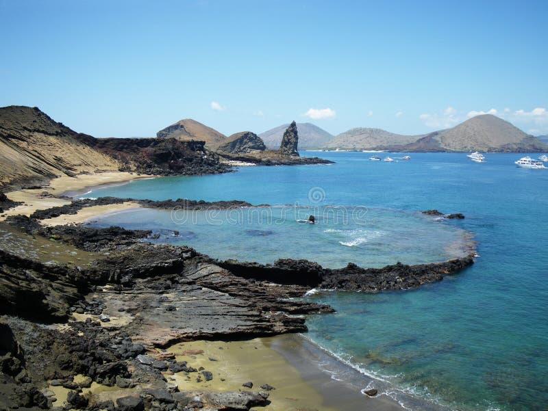 остров galapagos bartolome стоковая фотография