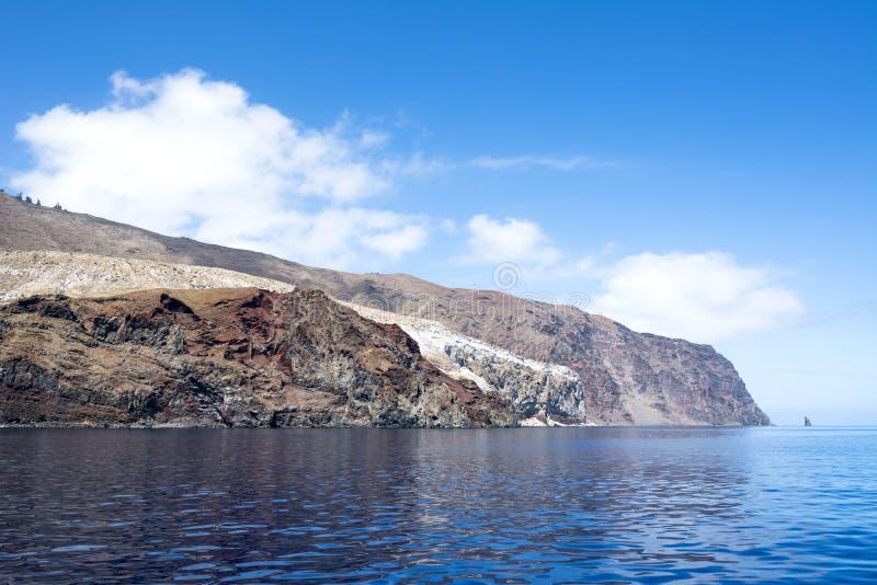 Остров Guadalupe стоковое изображение