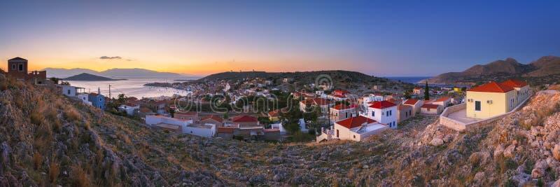 Остров Halki стоковая фотография